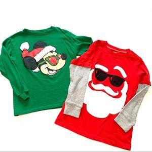 Christmas shirt bundle boys 6/7
